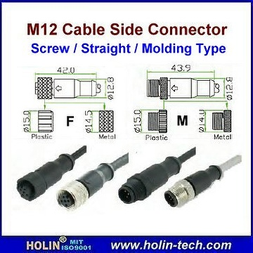 M12 Connector & Cable Ass'y