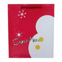 Paper bags, gift bags, carrier bags - Christmas design paper carrier bags