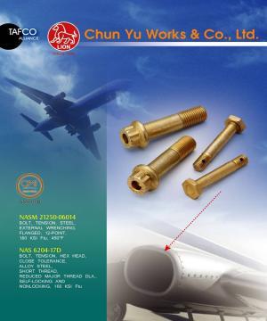 Taiwan Aerospace Fasteners: Nuts & Bolts | Taiwantrade