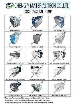 干式螺杆真空泵,干式渦旋式真空泵,油泵,旋片泵,魯泵