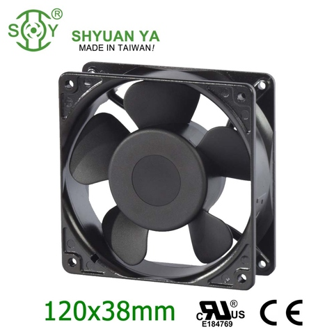 Ip65 Small Square Rotary Mechanical AC Cabinet Ventilation Fan For Control  Panel