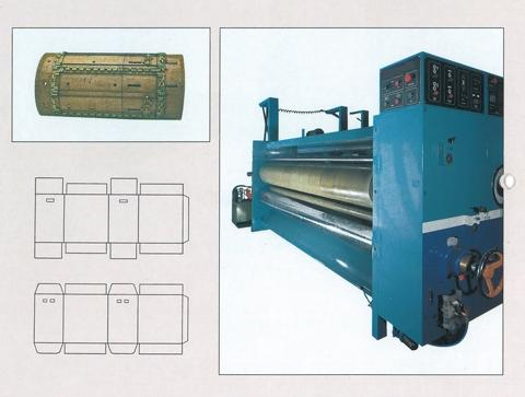 Taiwan Rotary Die cutter machine (Corrugates sheet), Paper-box