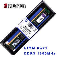 Kingston KVR16N11/8 DDR3 1600 4GB, 4G DRAM Memory Modules