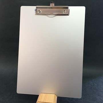ESD Aluminum clipboard 5052 with Round Edges
