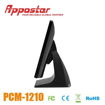 Appostar POS Monitor PCM1210 Side View