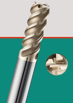 Cutting Tool For Stainless /  Variable Leads Design End Mill