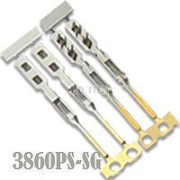 FFC, FPC connector/membrane 2.54mm Long Square Male Terminal