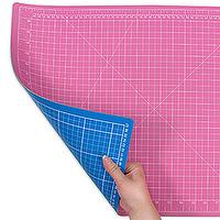 Self-healing Cutting Mat (A2, Pink+Blue)