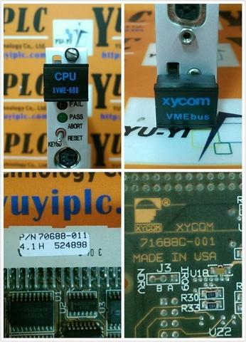 XYCOM XVME-688 70688-011 CPU MODULE