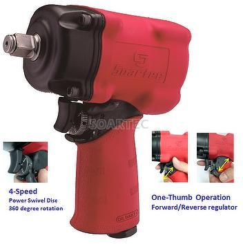 "1/2"" H.D. Impact Wrench, Twin Hammer"
