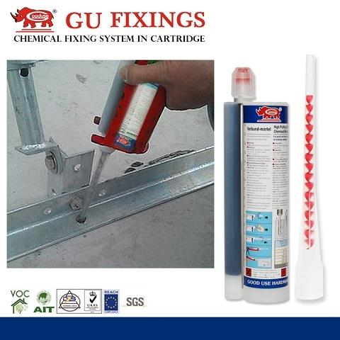 Taiwan High Bonding Epoxy Grout Concrete Mixing Resin Anchor