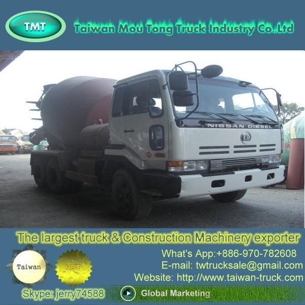 Mt 005 Camión Hormigonera Camión Mezclador Camión Japón Camiones De Hormigón Camiones De Cemento Material De Construcción Automóviles Camiones De Carga Pesada Camiones De Segunda Mano Mezcladores Distribuidores De Camiones Nissan