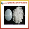 LED light diffusion PP material