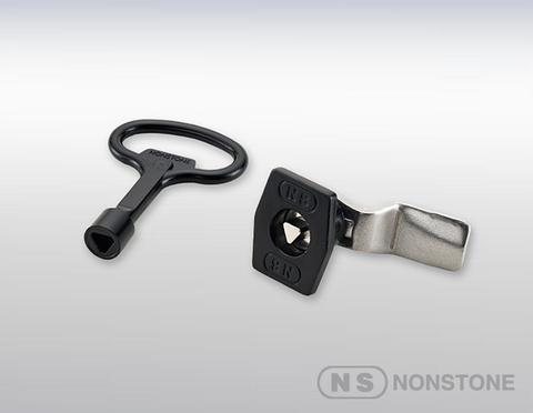 7mm triangle Quarter-turn Lock,security protection other locks,