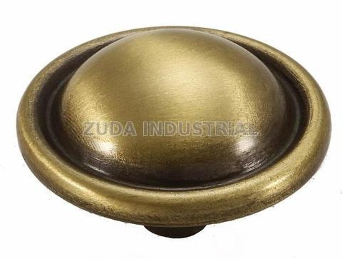 antique brass knob modern