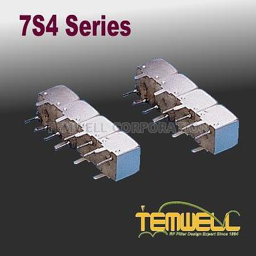 Helical Bandpass Filter- 7S 4 pole Fillter