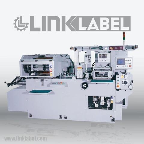 Flate-bed Label printing machine