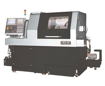 Sliding Head & Fixed Head Compound CNC Lathe