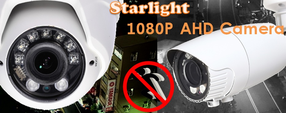 Starlight AHD Camera