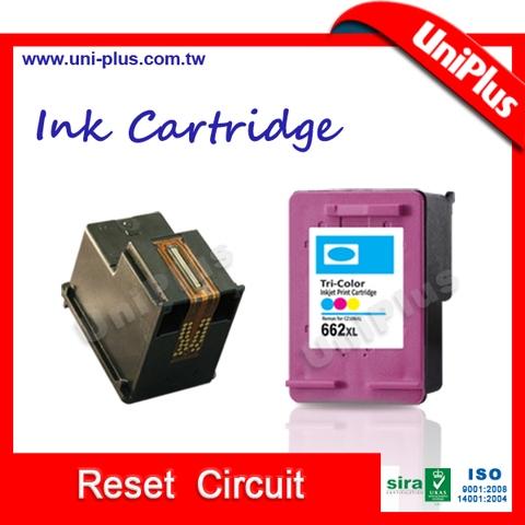 Cartucho de impressora compatível para HP deskjet 662 2540 2545 2546 2548 2645 cartucho de tinta de recarga