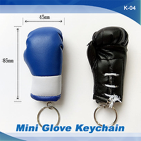 MINI BOXING GLOVE KEYCHAIN, GIFT