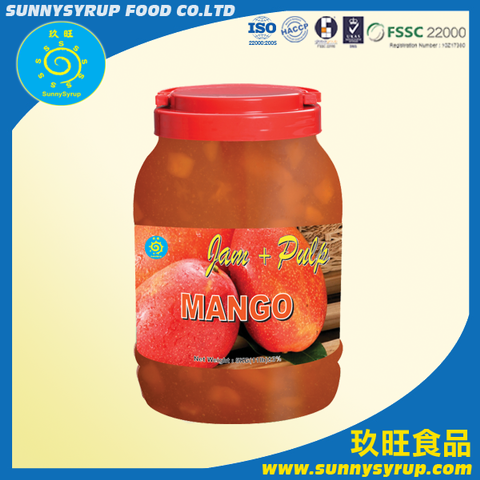 Taiwan Bubble Tea Mango Jam Sunnysyrup Bubble Tea Supplier