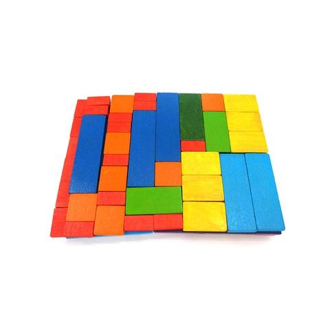 1~12cm wooden cuisenaire rods bars   mixed