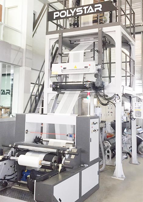 ABA blow film extrusion