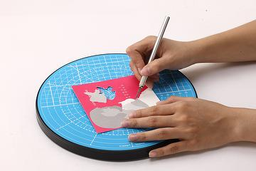 MA-809 multi function rotary/cutting mat, office supplies
