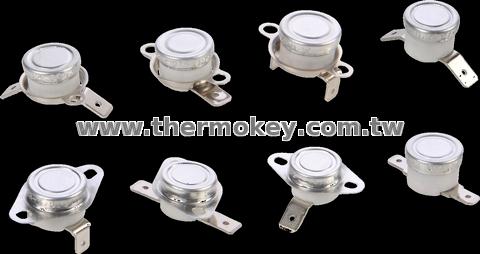C4 Auto Reset Ceramic Bimetallic Thermostat