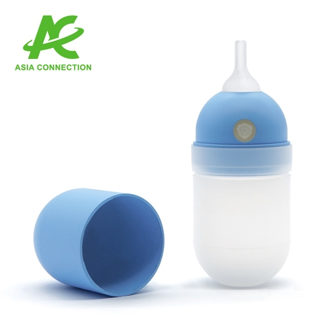 Infant Auto-Bulb Manual Nose Suction Aspirator with Long Tip