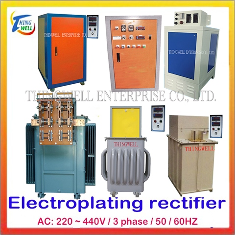 Taiwan Electroplating Rectifier, SCR Plating Rectifier,High