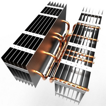 CH-Heat pipe cooler