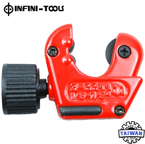 2 in 1 Mini Tubing Cutter 3~22 mm with Deburring Blades Tool