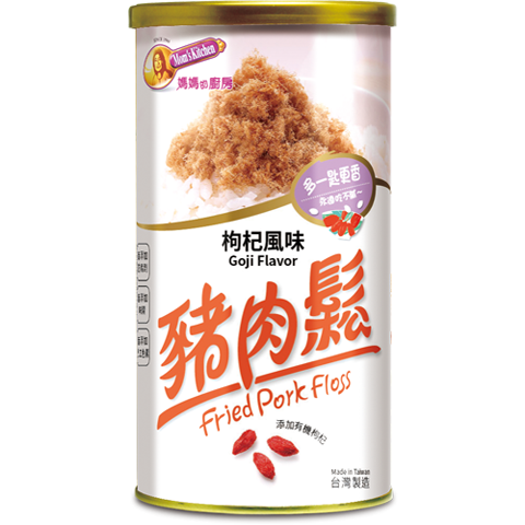 [Pork Floss] Fried Pork Floss (Goji Flavor) (200g)