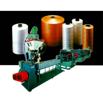 High Speed Flat Yarn Making Machine 高速扁紗製造機