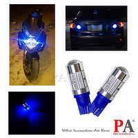 Super bright LED with Lens 10SMD 5630 5730 T10 #555 Blue LED Auto Car Interior Light Lamp Bulb