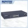 8-P 1000T + 2-SFP(100/1G) slot  L2+ Managed Switch