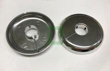 Chrome Plated Poly Floor & Ceiling Plate