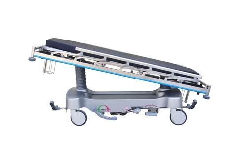 Hospital Emergency Stretcher with 5 Wheels