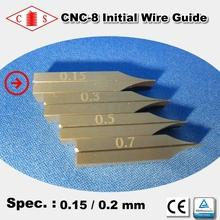 CNC-8 Initial Wire Guide 0.15 / 0.2 mm - Front