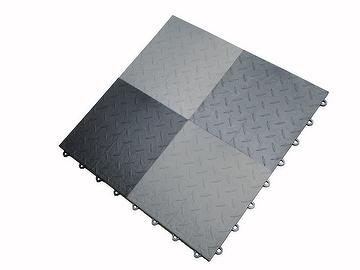 Garage Tile-Rubber-Iron Texture