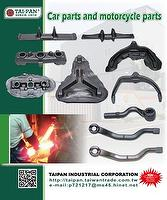 Car parts and motorcycle parts