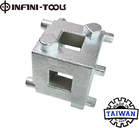 Taiwan Disc Brake Caliper Piston Cube, 3/8