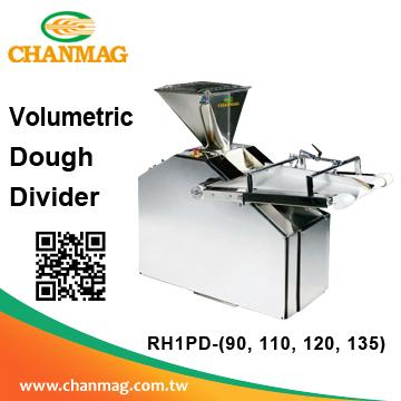 Volumetric Dough Divider Divider with Rounder