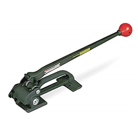 Hand tool for steel strapping