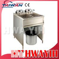 Double Commercial Electric Fryer