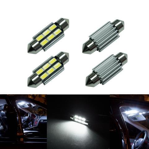 PA Auto Car Interior Mirror Light Bulb Reading Lamp 5730 6SMD LED 36mm festoon