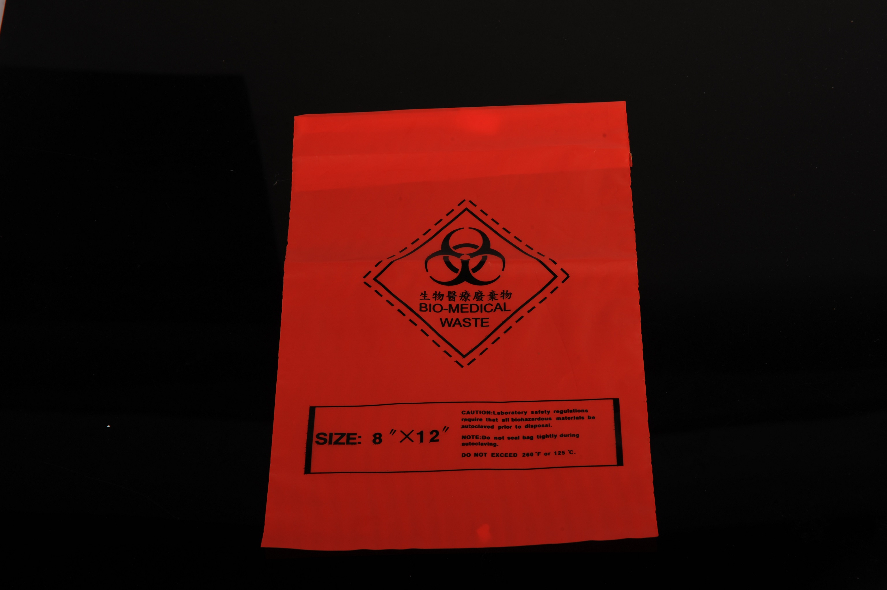 Yellow /Red Biohazard Bags