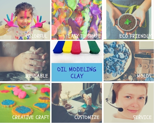 oil modeling clay key features